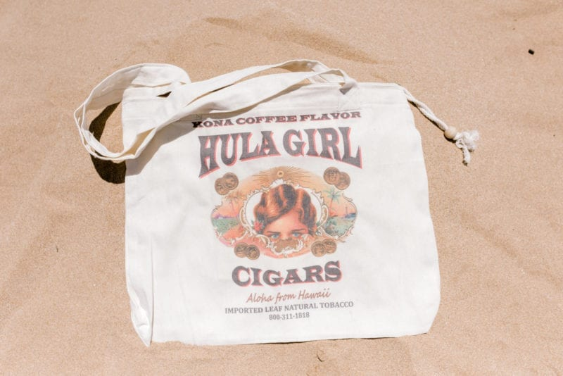 Hula Girl Cigars Bag